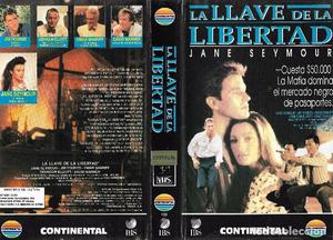 ** HR273 - CARATULA DE PELICULA VHS - LA LLAVE DE LA
