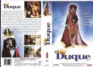 ** HR276 - CARATULA DE PELICULA VHS - EL DUQUE