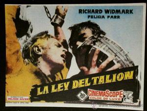 LA LEY DEL TALION - USA 20t Century Fox  - RICHARD