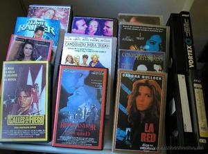 LOTE DE 15 CINTAS DE VHS LA GRAN MAYORÍA CON SU CAJA