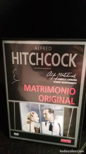MATRIMONIO ORIGINAL DE ALFRED HITCHCOCK