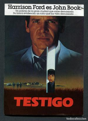 PROGRAMA ORIGINAL DOBLE ÚNICO TESTIGO Harrison Ford, Kelly