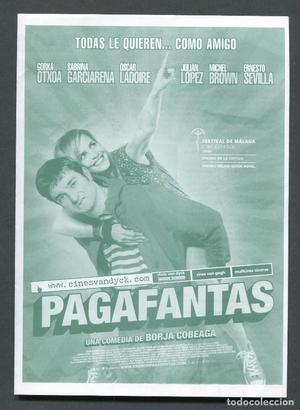 PROGRAMA ORIGINAL DOBLE PAGAFANTAS Gorka Otxoa, Sabrina