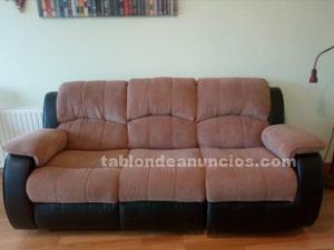 Se vende sofá relax automático de 3 plazas