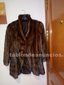 Vendo chaquetón de lomos de vison