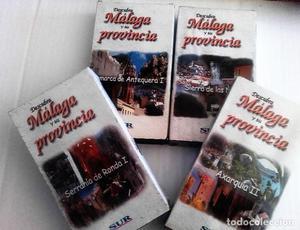 lote 4 cintas VHS provincia de Málaga