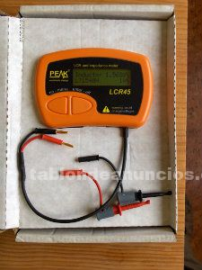 Analizador lcr e impedancia