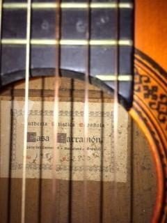 Guitarra Flamenca Casa Parramón