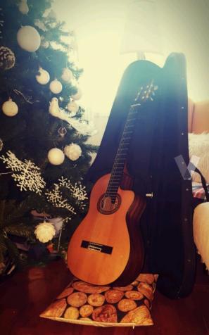 Guitarra clásica Prudencio Sáez