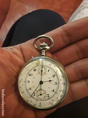 Reloj antiguo de bolsillo CHRONOGRAPH casi a estrenar