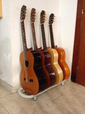 Soporte de suelo/pared para guitarras
