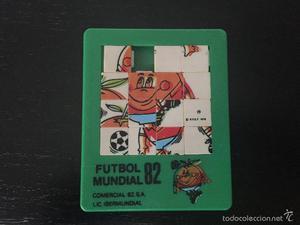 ANTIGUO Y GENIAL PUZZLE DEL MUNDIAL DE FUTBOL 82 DE ESPAÑA