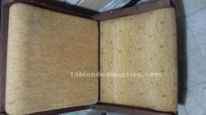 Butacones de madera