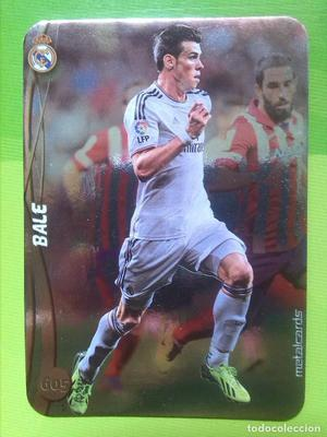 Cromo de Bale, R. Madrid, Mundicromo , TOP