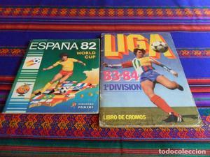 ESTE LIGA  Y ESPAÑA 82 PANINI MUNDIAL