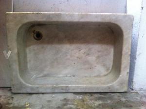 Pica fregadero de m rmol antiguo barcelona posot class - Fregadero marmol ...