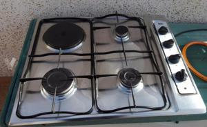 Cocina mixta con horno y una placa electrica posot class for Cocinas mixtas a gas y electricas