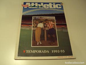 REVISTA ATHLETIC CLUB.TEMPORADA .