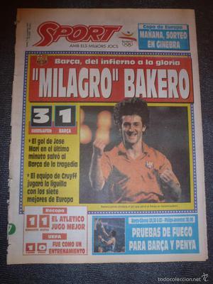 SPORT()!!!MILAGRO BAKERO COPA EUROPA KAISERLAURTEN 3