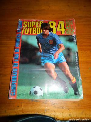 Super Futbol 84 Editorial Rollan 390 Cromos
