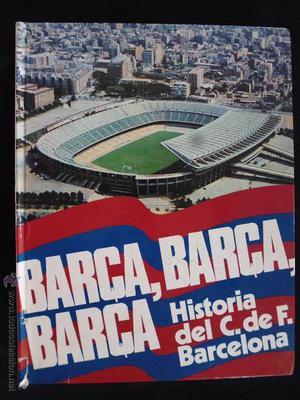 antiguo libro historia del c.de.futbol barcelona barça