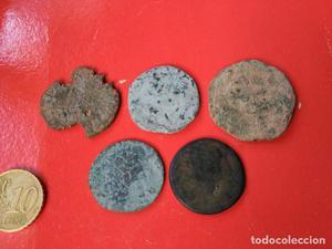 lote monedas ibéricas o romanas a clasificar