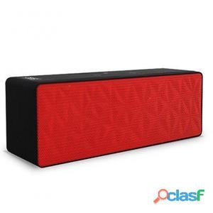 3GO Altavoz Wallop Bluetooth 4.0 Micro sd Rojo