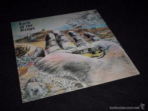 Bo Hansson Lord Of The Rings UK Press Charisma Label Edicion