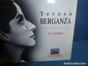 CD EN PERFECTO ESTADO DE TERESA BERGANZA. LES TRIOMPHES