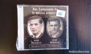 CD JOSE NORIEGA JOSE REQUEJO DOS CAMPEONES DE LA MÚSICA