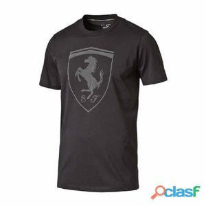 Camisetas casual Puma Ferrari Big Shield Tee Moonless Night