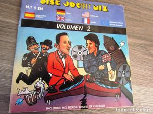 DISC JOCKEY MIX Vol. 2 2 singles Incluye Mix House Sound of