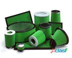 Filtro de sustitucion deportivo Green JEEP WRANGLER AMC USA