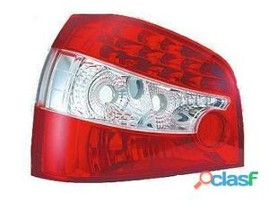 Focos Traseros para Audi A3 de LEDS color rojo/blanco 96-03