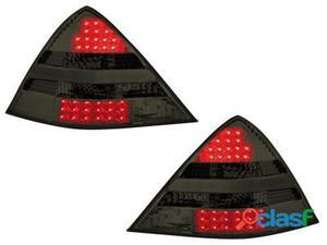 Focos traseros de LEDs Mercedes Benz SLK R170 00-04_ahumados