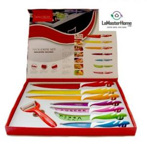 Cuchillos 7 piezas hippo line switzerland posot class - Set de cuchillos royalty line ...