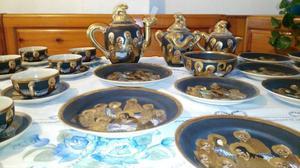 Juego de té japonés Meijin