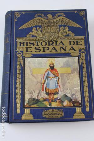 L- . HISTORIA DE ESPAÑA, AGUSTIN BLANQUEZ FRAILE. ED.
