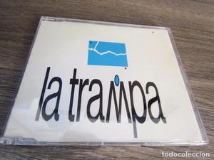 LA TRAMPA CD single Te esperaré, Te echo de menos, Lo que
