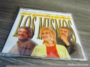 LOS MISMOS CD SINGLE Sus grandes exitos. 4 temas