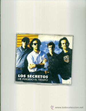 LOS SECRETOS. He perdido el tiempo (cd single promo )
