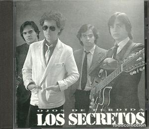 LOS SECRETOS. Ojos de perdida (cd album )