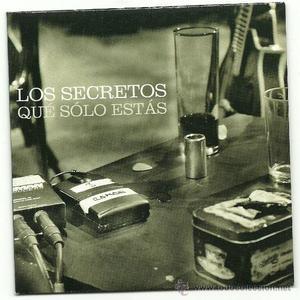 LOS SECRETOS. Que solo estas (cd single )
