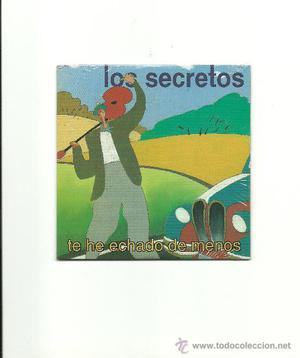 LOS SECRETOS. Te he echado de menos (cd single promo )
