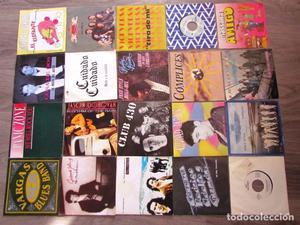 LOTE DE 440 SINGLES Distintas épocas, estilos. VER FOTOS