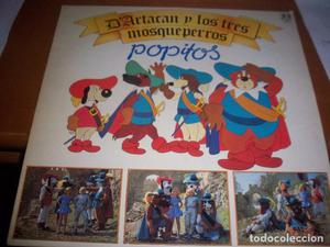 LP de Popitos, D'artacan y los tres mosqueperros. Edicion