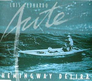 LUIS EDUARDO AUTE - HEMINGWAY DELIRA - CD SINGLE - 1 TRACK -