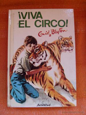 Libro Enyd Blyton los cinco Viva el circo numero 52
