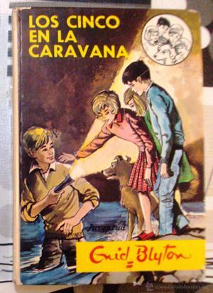 Libro enyd Blyton Los cinco en la caravana numero