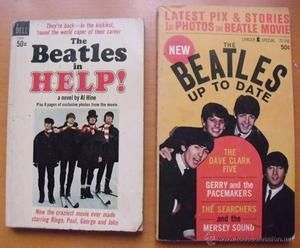 Libros ''The Beatles in Help!'' () + ''The Beatles. Up